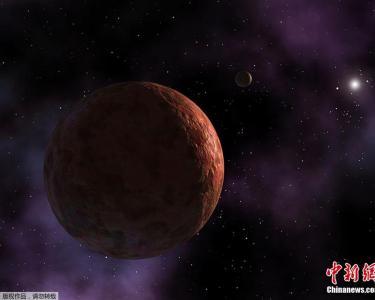 NASA公布太阳系最遥远天体Sedna概念图