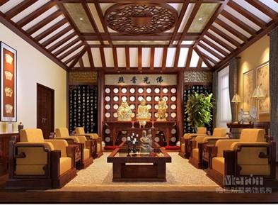 别墅装修中式风格的玄妙之音