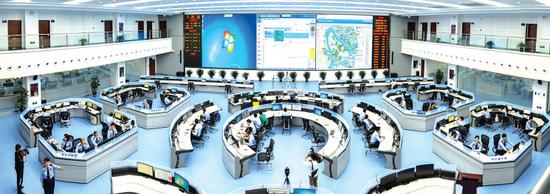 贵阳市公安局块数据指挥中心。