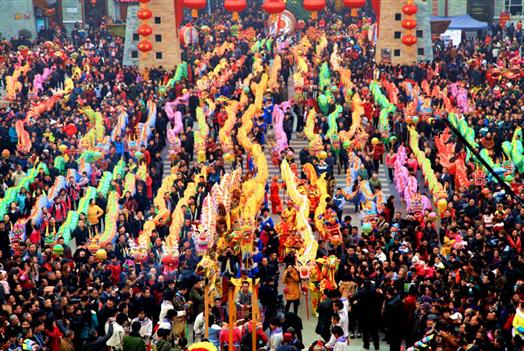 北川智慧旅游,助推春节黄金周旅游提质