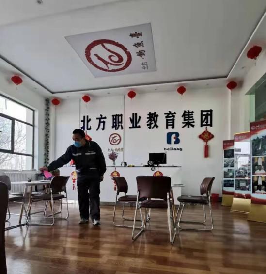 学校比家更安全!甘肃北方线上配资 学校 开展无死角校园消毒工作 确保师生股票