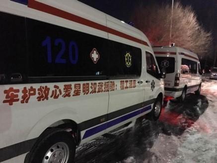 108位明星携思源工程向武汉捐第三批负压救护车