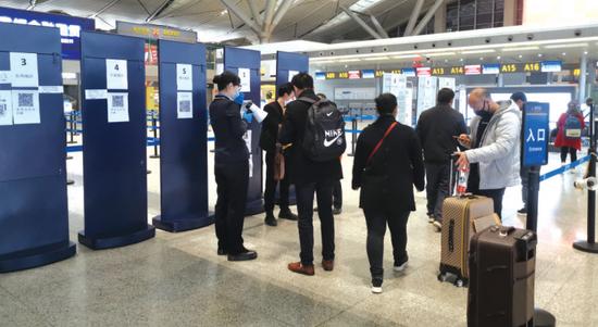 """全国机场健康申报""""一码通"""" 贵阳旅客率先体验"""