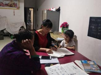 """开学在即,印江县实验小学教师未雨绸缪入户降""""心火"""""""