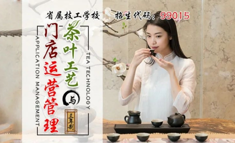 茶艺新专业丨茶艺师:选择高端职业,确定人生方向!