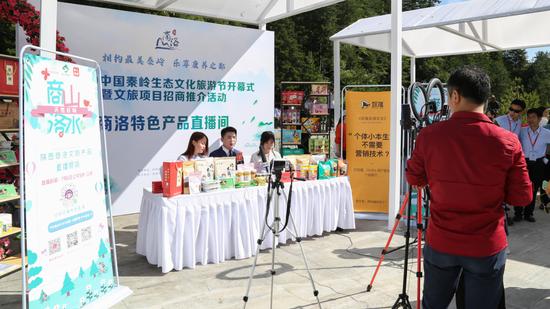 秦岭最美是商洛 2020中国秦岭生态文化旅游节开幕