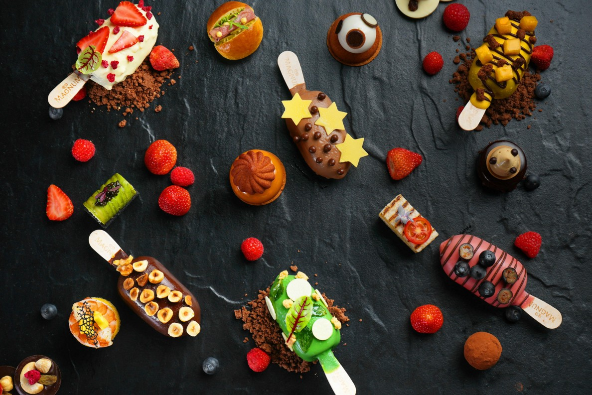 成都富力丽思卡尔顿酒店推出梦龙冰淇淋主题下午茶