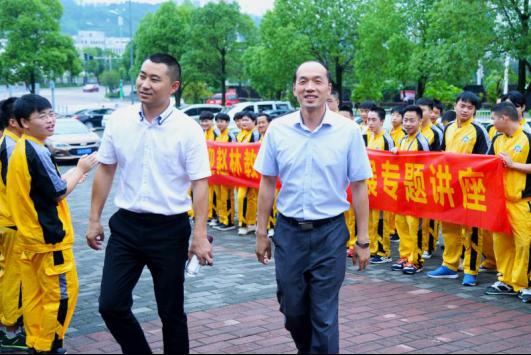 汽车行业技术大咖赵林教授莅临重庆万通开展专题讲座