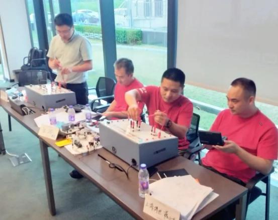 保时捷PEAP认证教师TTT培训,上海博世汽车学校认证教师受邀出席培训