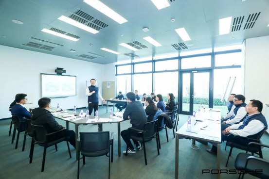 保時捷PEAP認證教師TTT培訓,上海博世汽車學校認證教師受邀出席培訓