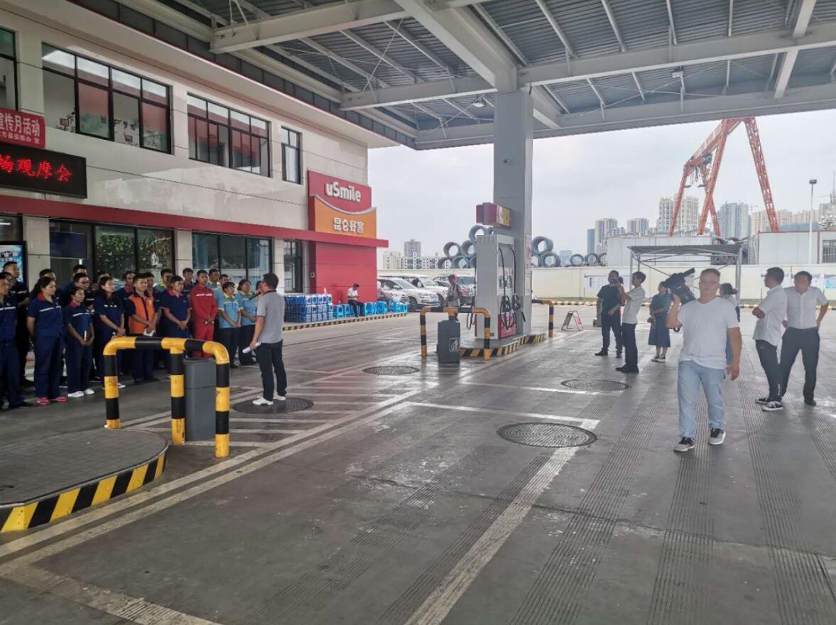 贵州大方县:群众生命至上,加油站禁止扫码
