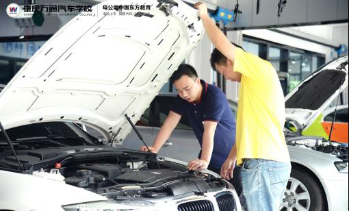 重庆万通:从汽车小白到二手车评估师高薪职业 只需10天