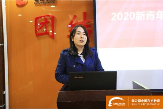 青年餐厅来校开展企业宣讲招聘会,天津新东方学子就业选择多多多!