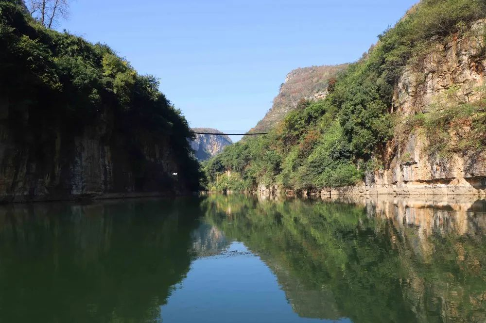 金海湖新区(毕节高新区):冬游好去处 双山大峡谷