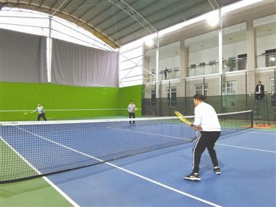 """毕节市2020年""""迎新杯""""两城区网球比赛开幕"""