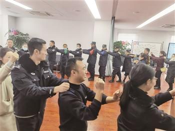 安顺市公安局开展关爱民警辅警身心健康活动