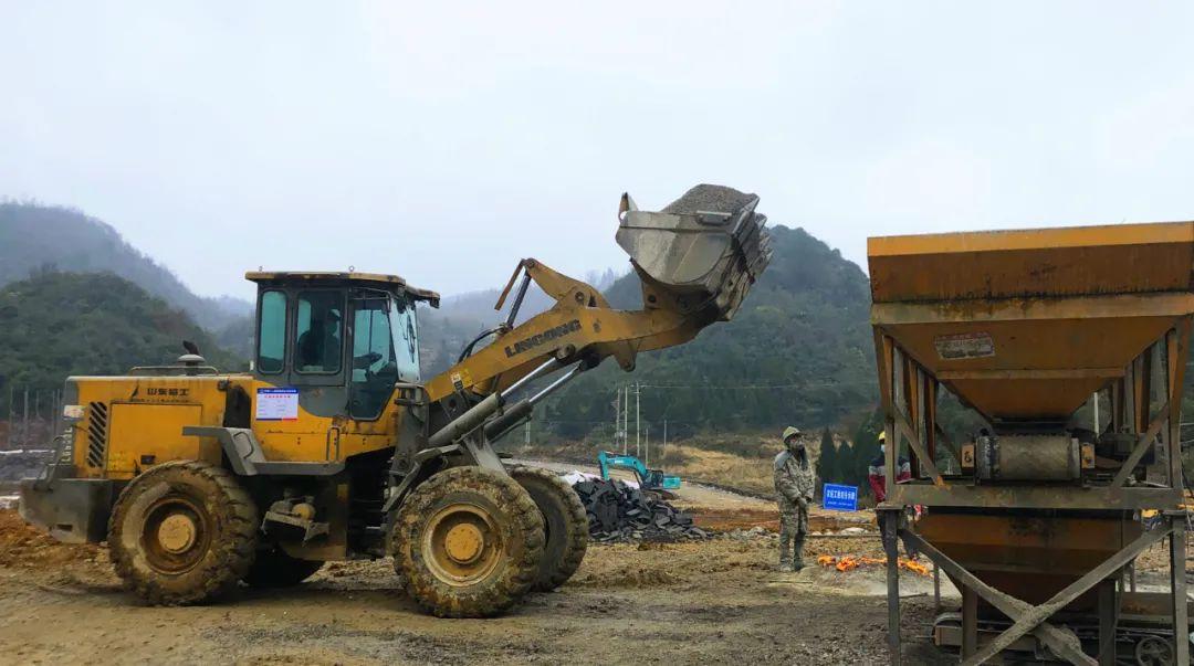 贵金古高速公路金沙境内建设项目稳步推进