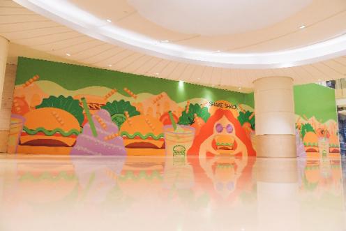 """畅游""""绿色奇境"""",北京第三家Shake Shack落户国贸商城北区"""
