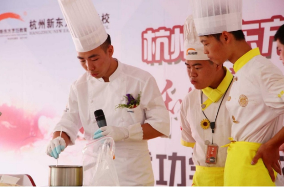 过完年,我决定来杭州新东方学烹饪,给自己一个灿烂前途!