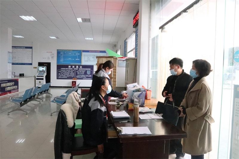 黔西县经开区开展企业复工复产督查工作