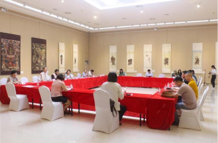 国家艺术基金项目《白沙壁画临摹精品展》全国巡展岳阳展举办