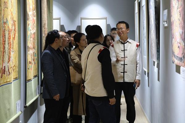 国家艺术基金项目《白沙壁画临摹精品展》全国巡展贵州展举办