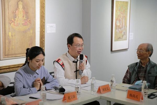 国家艺术基金项目《白沙壁画临摹精品展》全国巡展四川展举办