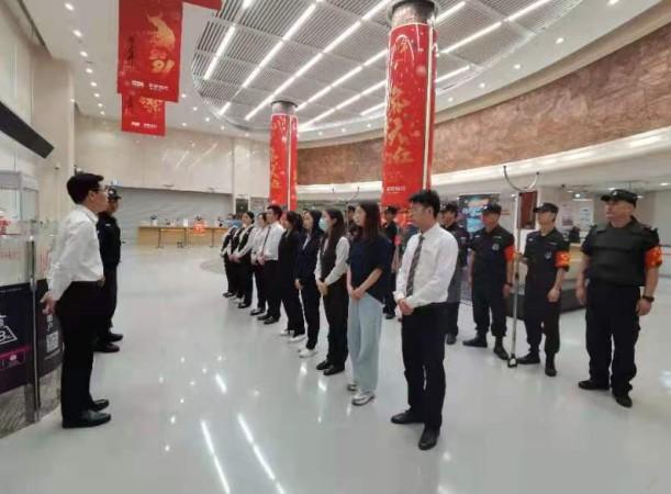 平安银行贵阳分行营业部举行消防培训及防抢演习
