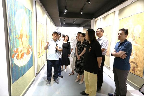 国家艺术基金项目《白沙壁画临摹精品展》全国巡展上海展举办
